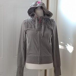 Lululemon Grey Partially Knitted Jacket